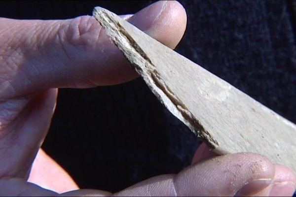 La nitrocellulose se présente sous la forme de bandelettes de poudre, immergées dans 4 lacs artificiels au sud de Toulouse