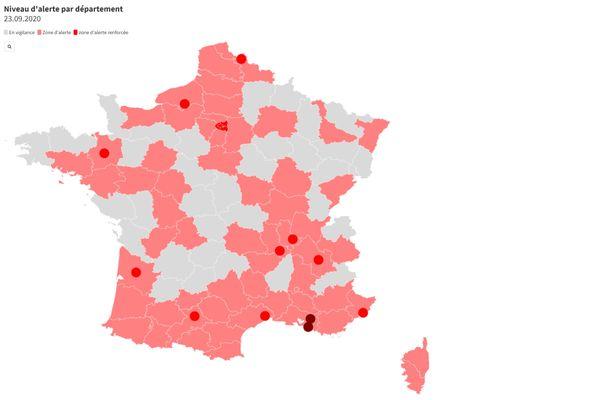 Covid 19 La Haute Vienne Placee En Zone D Alerte