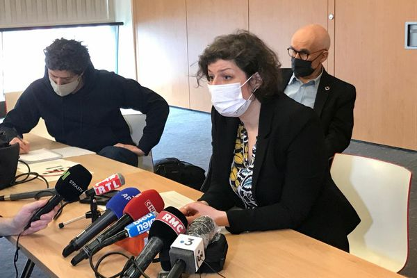 La maire de Strasbourg, Jeanne Barseghian répond à Gérald Darmanin, le 22 mars 2021
