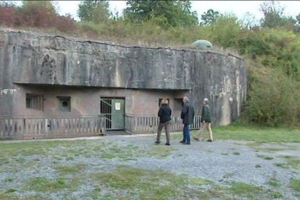 Le four à chaux de Lembach, un des forts de la ligne Maginot.