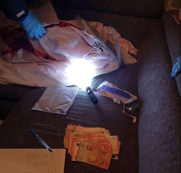10 000 euros en espèces ont été saisis lors de l'opération menée à Cherbourg le 16 novembre