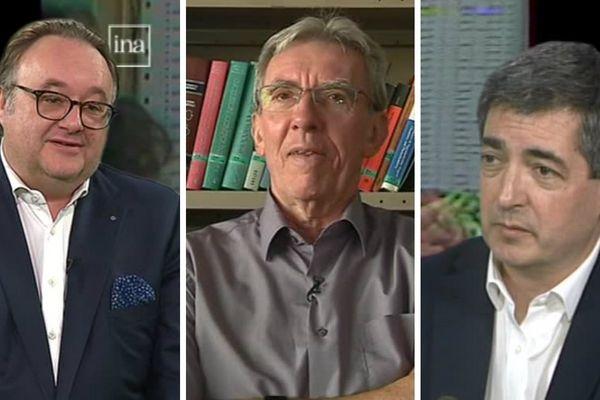 De gauche à droite : Stéphane Dedieu, Jean-Pierre Sauvage et Jean Rottner