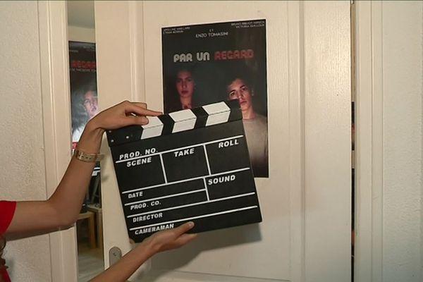 """Le court métrage """"Par un regard"""" a été tourné au lycée Camille Claudel, à Digoin, avec pour objectif de faire évoluer les mentalités sur l'homophobie."""