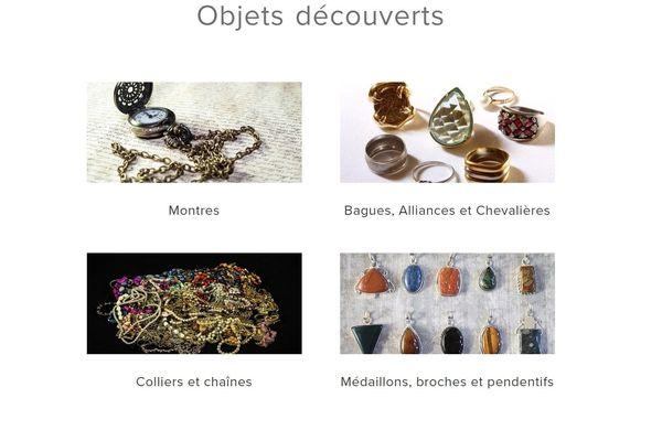 Quelques uns des objets retrouvés par la Gendarmerie de Clermont-Ferrand