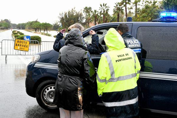 Béziers (Hérault) - les inondations ont fait au moins un mort. Une Britannique de 68 ans à Cazouls-d'Hérault - 23 octobre 2019.