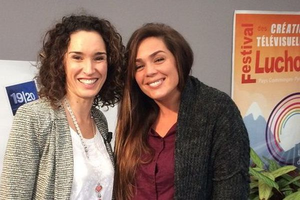 Marie-Sophie Lacarrau et Lola Dewaere