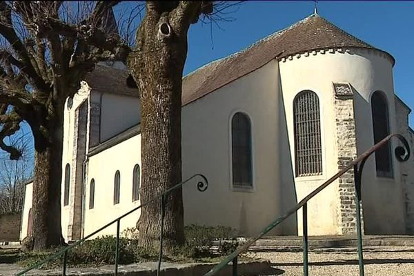 L'église Saint-Sévère de Bourron Marlotte.