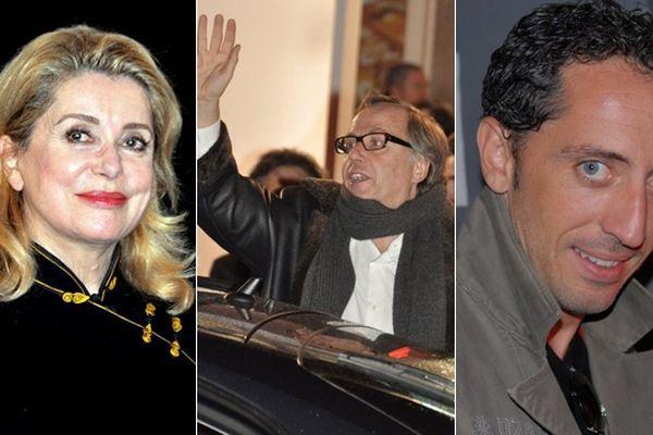 Catherine Deneuve, Fabrice Luchini, Gad Elmaleh