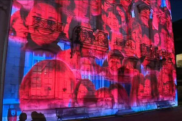 Couleurs d'amour, série de spectacles de lumières à Bourg-en-Bresse du 23 juin au 23 septembre 2017