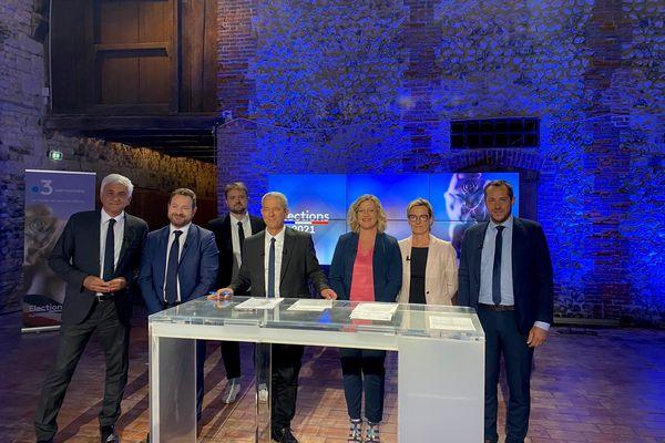 Le débat d'entre deux tours des élections régionales en Normandie s'est tenu jeudi 24 juin sur France 3 Normandie.