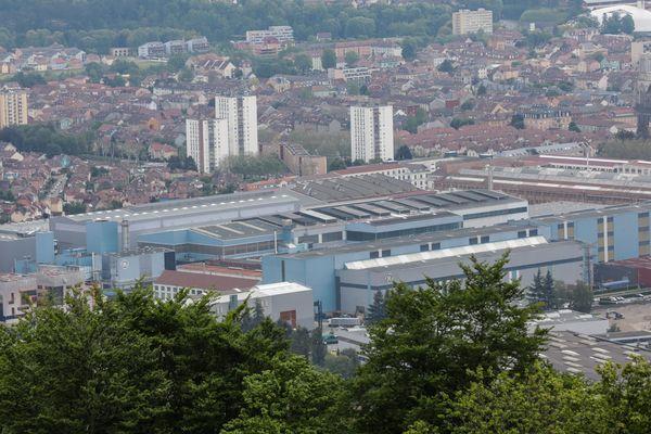 L'usine GE de Belfort emploie 3800 personnes, le plan de suppression de postes prévoit près de 800 départ