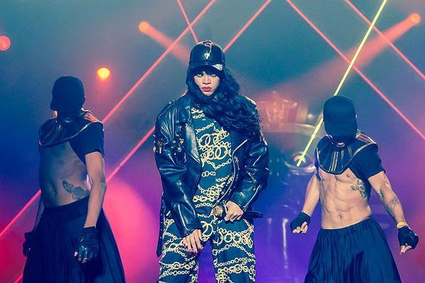 La chanteuse Rihanna sur la scène du Kollen Music Festival, en Norvège, l'an dernier.