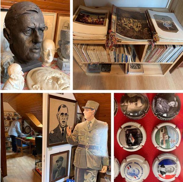 Une collection multi-objets consacrée au général De Gaulle