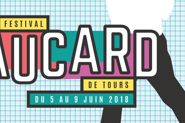 Affiche officielle de la 33e édition du festival Aucard de Tours