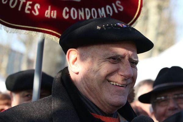 André Daguin en décembre 2016 lors de la manifestation de l'association Esprit du Sud 32
