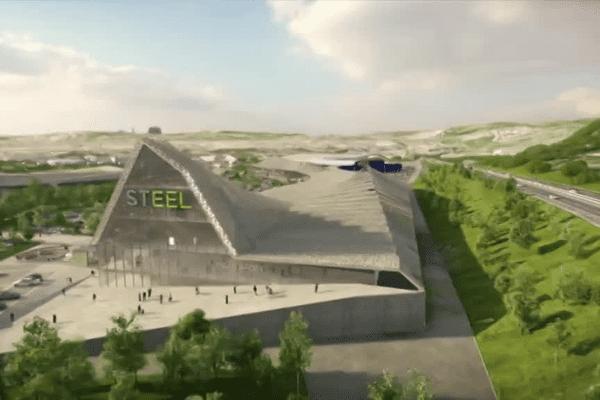 Image de synthèse du futur centre commercial envisagé- Juillet 2015