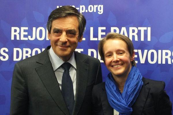 Laurence Garnier avec François Fillon