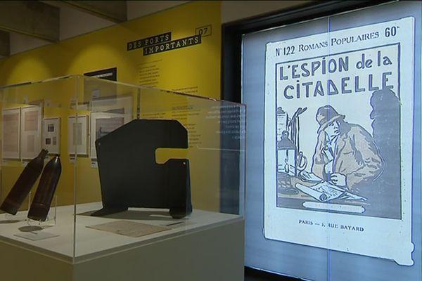 """L'exposition """"Espions"""" c'est jusqu'au 6 octobre prochain au musée de Gravelotte"""