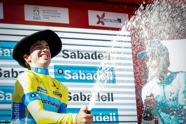 Ion Izagirre , vainqueur du Tour du Pays basque 2019 (13/04/2019)