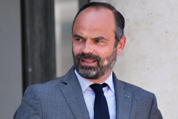 Le Premier ministre Édouard Philippe