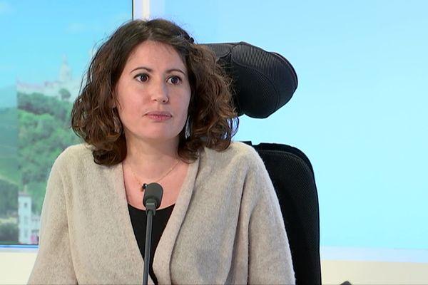 Mandine Casado, responsable d'un groupe Téléthon, est atteinte d'une myopathie des ceintures.