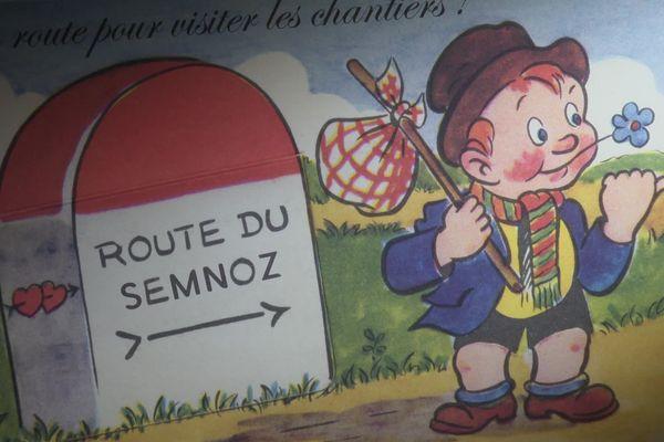A l'époque, ces cartes postales vantent les mérites d'Annecy dans tout le pays et bien plus loin encore