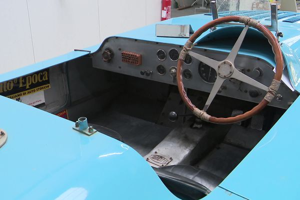 La Bugatti 57G qui participera ce week-end au Circuit des Remparts à Angoulême.