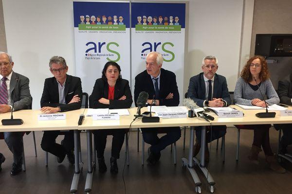 Conférence de presse de l'ARS à Nantes le 5 mars 2020