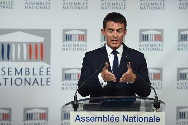 Manuel Valls, le 21 septembre 2015