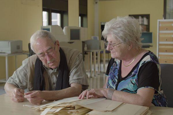 Gérard Villemin et Liliane Jérôme ont enquêté sur la déportation de centaines d'hommes dans la vallée du Rabodeau dans les Vosges.