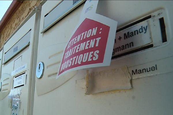 Les habitants ont été informés par un courrier dans leur boîte aux lettres.