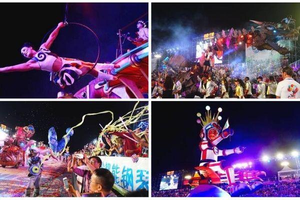 C'est la troisième fois que le Carnaval de Nice s'exporte en Chine.