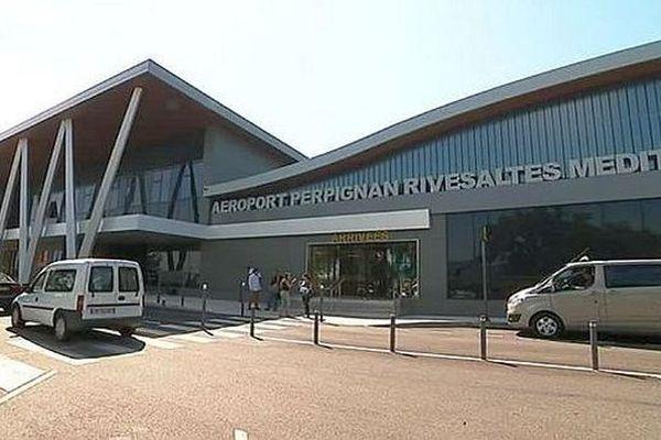 L'aéroport de Perpignan-Rivesaltes - juillet 2017.