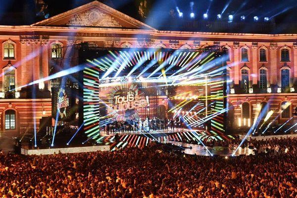 La fête de la musique de France 2 Place du Capitole en 2016