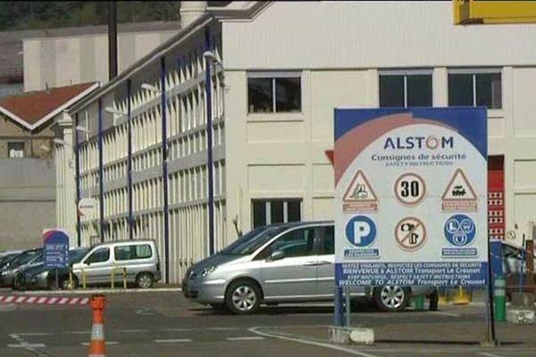 Le site Alstom du Creusot