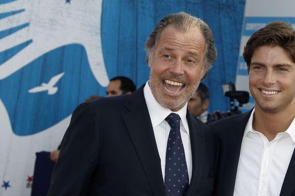 Michel Leeb et son fils, Tom Leeb.
