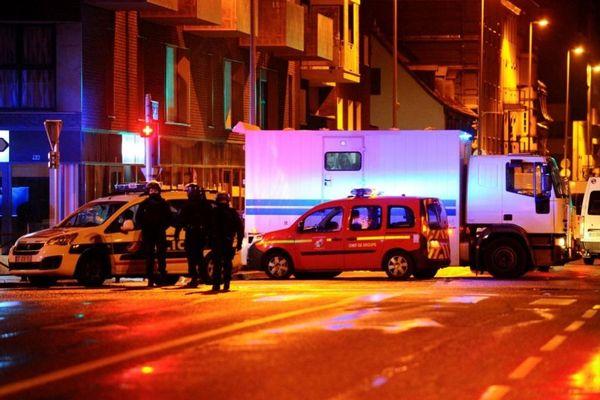 Strasbourg, dans la nuit de lundi à mardi