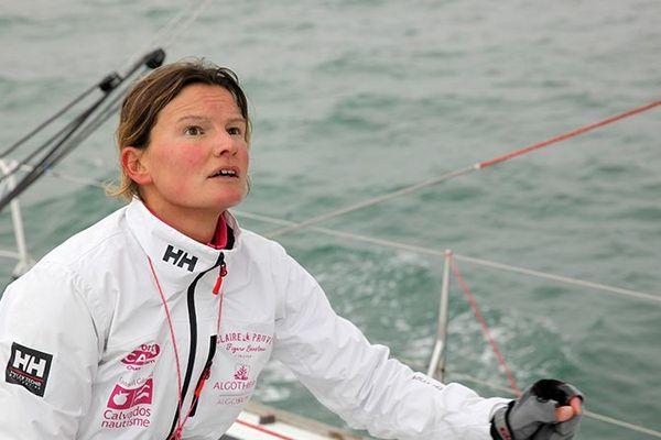 Claire Pruvot abandonne la Route du Rhum.