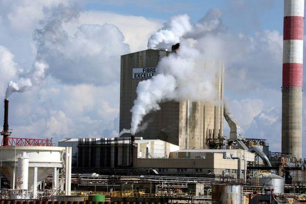 L'usine de pate à papier Fibre excellence à Tarascon a été placée en redressement judiciaire en octobre 2020.