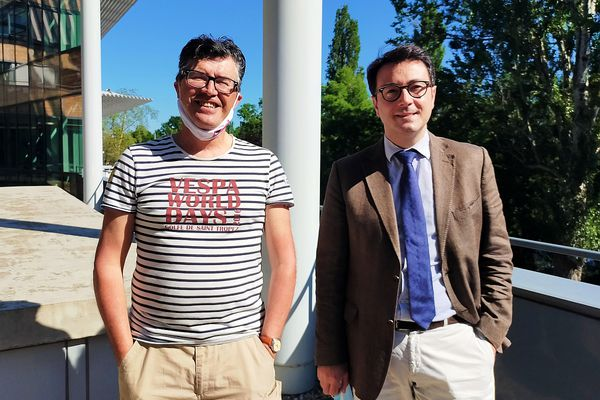 A Strasbourg, Denis Perrette a été reçu par Alexandre Mora, directeur de cabinet de Jean Rottner.