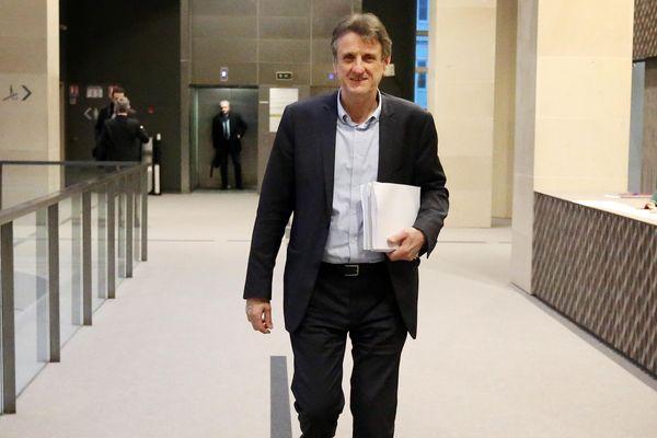 Jean-François Macaire au conseil régional de la Nouvelle-Aquitaine à Bordeaux