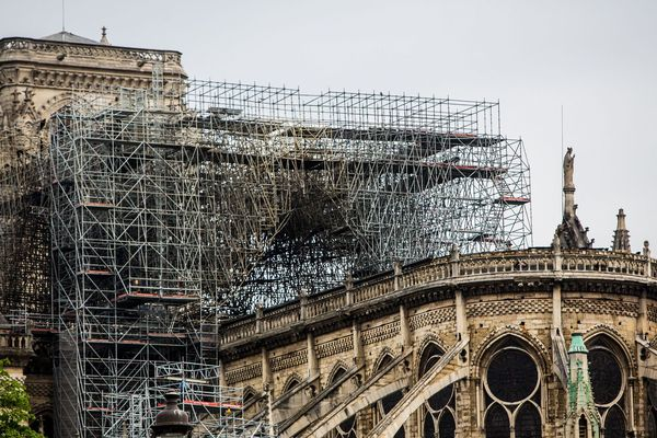 Notre-Dame, le 16 avril 2019