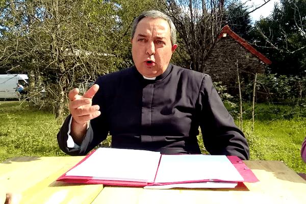 L'abbé Xavier Beauvais de la FFSPX (Source : Médias-Presse-Info)