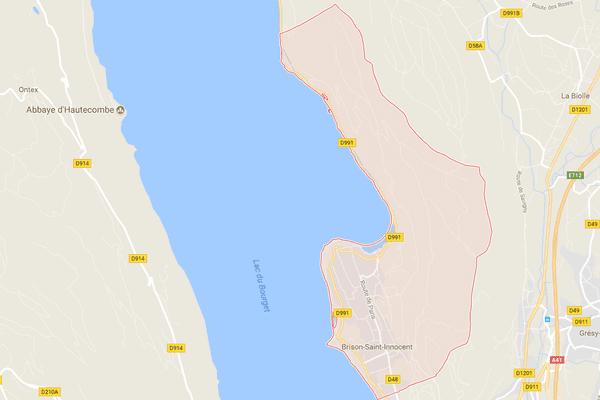 L'accident s'est produit dans le Lac du Bourget, au large de la commune de Brison-Saint-Innocent en Savoie.