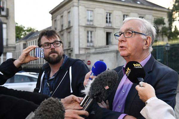 Alain Mustiere, président des Ailes pour l' Ouest
