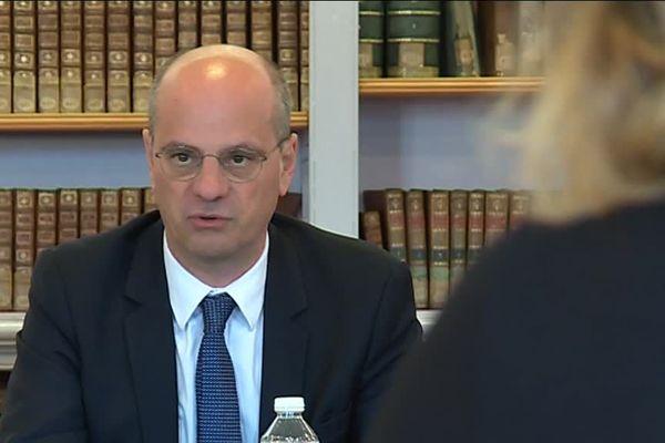Jean-Michel Blanquer attendu à Nancy pour parler des nouveaux enseignements numériques déployés dans le cadre de la réforme du lycée.