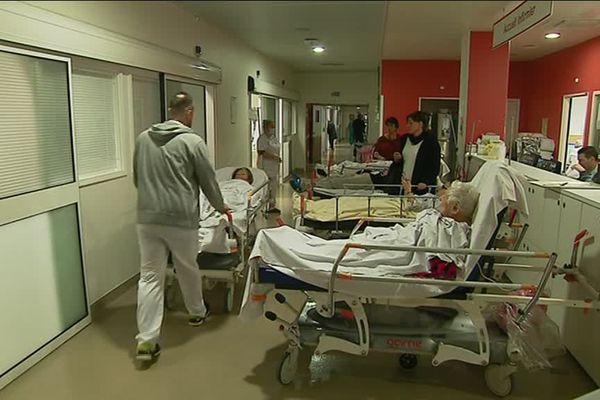 Les urgences de l'hôpital Pasteur 2 à Nice.