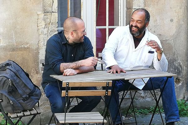 Les médiateurs de santé pairs de l'équipe de Dijon