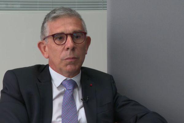Le Général Philippe Boutinaud, lors de son entretien accordé à France 3 Paris IDF.