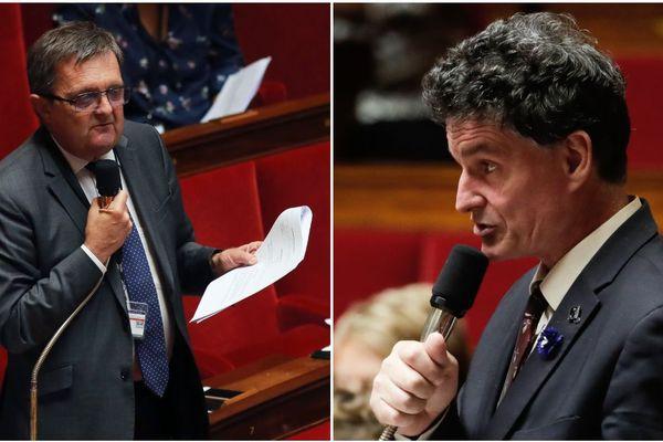 """Gilles Lurton """"pour"""" la loi anti-casseurs, Paul Molac totalement """"contre"""""""
